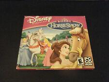 Disney Princess: Royal Horse Show Jewel Case (PC, 2011)