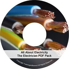 Electrician Electricity Electrical Electronics Books PDF Manuals on CD