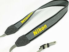 Genuine Nikon Camera Strap Grey/Yellow