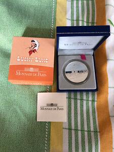 be 10 euro lucky luke 2009 proof avec certificat et coffret