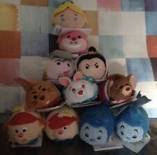 Disney Store Authentic Alice in Wonderland mini Tsum Tsum Complete Set Of 11 Nwt