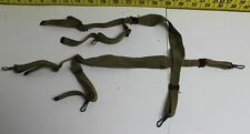 Genuine U.S. Army Military WWII WW2 X Strap Suspenders Supply Belt Support