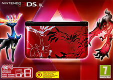 Nintendo Console 3DS XL • Pokemon XY Red YVELTAL Limited Edition ITA PAL