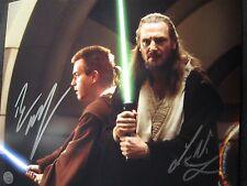 Star Wars Liam Neeson & Edwan McGregor 8x10 autographed reprint