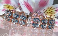 Armbänder mit Edelsteinen echten Diamant aus Rotgold für Damen