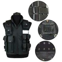 Tactical Vest Police Ammo Military Airsoft Hunting Combat Assault Carrier Safe