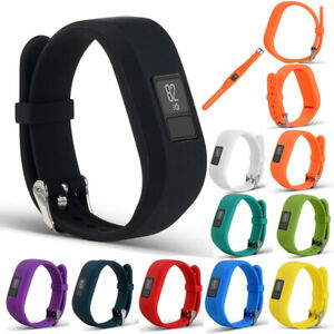 Replacement Colour strap Garmin VivoFit 3 Secure Band Wristband Metal Schnalle