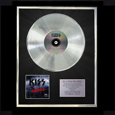 KISS REVENGE   CD PLATINUM DISC VINYL LP FREE SHIPPING TO U.K.
