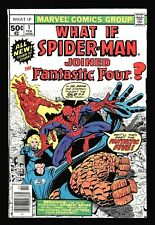 What if? #1 Spider-Man joins the Fantastic Four, Very Good+