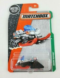2016 Matchbox #116 Snow Ripper Metal Parts New in Package
