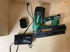 "HITACHI 3-1/2"" Framing Nailer; 18V Cordless, Brushless Plastic Strip NR1890DR"