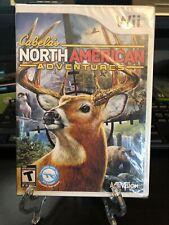 Cabela's North American Adventures (Nintendo Wii, 2010) NEW SEALED