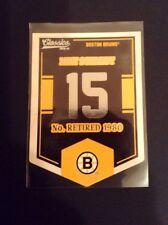 2012-13 (Bruins) Classics Signatures Banner Numbers #15 Milt Schmidt