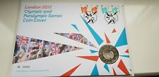 London 2012 Olympic & Paralympic Games £5 Coin Cover No.05563 with 4 Stamps