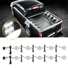 Trunk Bed White LED Light Strip Rear Work Box Lighting Kit Pickup DC 12V 10W
