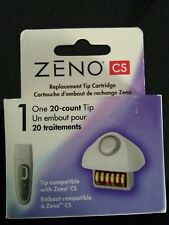 Zeno CS Acne Cleaning Replacement Tip Cartridge 20 count New sealed in box