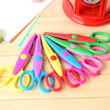 6 Random Decorative Craft Border Scissors Scallop Wavy Fancy Pinking Paper Shear