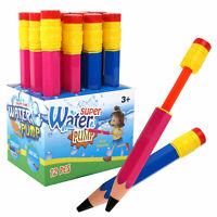 12er-Display Wasserspritzkanone Bleistift 2 Farben Wasserspritzer Wasserpistole