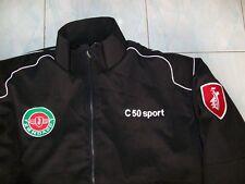 NEU ZÜNDAPP C 50 kl. Logo  Jacke schwarz veste jacket jas giacca jakka chaquet