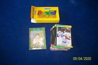 1989 DONRUSS COMPLETE 56 CARDS TRADED SET