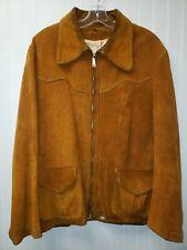 Men's Ideal Suede leather Jacket L