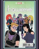 All-New Hawkeye #2 (2016) *1:10 FReD HeMBeCK VaRiaNT* Marvel Comics | (NM 9.4)
