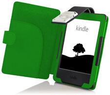 FC Kindle 2016 Funda & Luz LED | Verde + Stylus & Protector De Pantalla