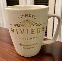 NWT Disney's Riviera Resort DISNEY VACATION CLUB Ceramic Coffee Mug Cup