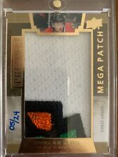 2014/15 UD PREMIER HOCKEY MEGA PATCH DUNCAN KEITH 5/24 CHEST 4CLR
