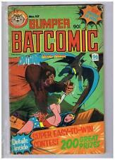 Murray Comics Bumper Batcomic #17 VG/F- 1980 Australian