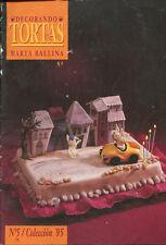 CAKE DECORATING Marta Ballina Magazine 1995 #5 Argentina