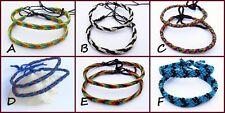 Modeschmuck-Armbänder aus Stoff ohne Stein