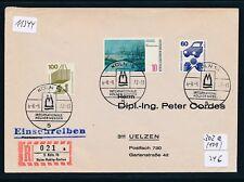 11344) Sonder R-Zettel Köln Heim-Hobby-Garten, Brief SST 8.9.72