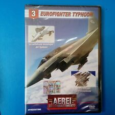 DVD Aerei da Combattimento DeAgostini Eurofighter Typhoon N° 3 Nuovo Blisterato