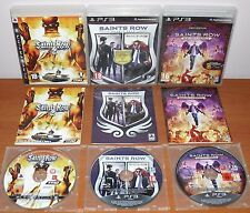 Saints Row Collection (2,Pack The Third & IV,Gat out of Hell) PS3, Ver. Española