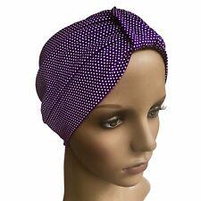 Turbante Headwear para la pérdida de cabello, algodón elástico suave quimio, cancer Alopecia