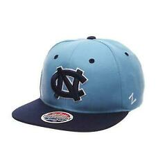 NCAA Zephyr North Carolina Tar Heels Mens Dh Fitted Hat Light Blue Size 7 1//4