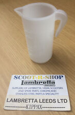 SCOOTER 2 STROKE OIL MIXING JUG. FOR LAMBRETTA GP-LI-SX-TV BRAND NEW