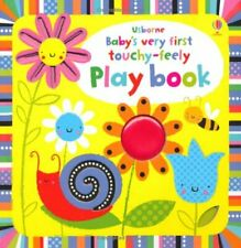 Baby's Very First Touchy-feely Playbook (Baby's Very First Books) by Fiona Watt