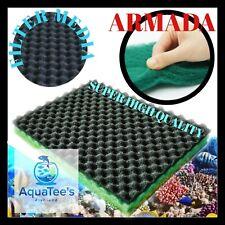 ARMADA Sponge Mat Aquarium Fish Tank Filter Aqua Media Sponge Matting 50X28X4CM