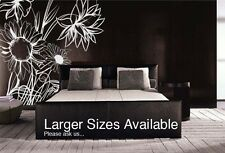 Vinyl Wall Decal Sticker Sunflower BIG 9ft Tall x 7ft W