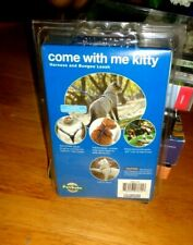 NEW-COME WITH ME KITTY LEASH AND HARNESS FOR CATS!PET SAFE-LARGE,UP TO 40lbs