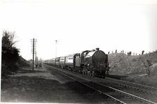 Rail Photo LMS 460 Patriot 5546 Gretna Green nr station Dumfries CR carlisle
