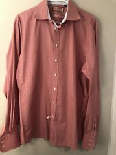 Thomas Pink Cruise Collection Button Front Shirt Multi Color Size 16 1/2