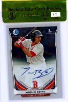 MOOKIE BETTS 2014 Bowman Chrome Rookie Card RC Auto Autograph BGS 9.5 Gem RCR