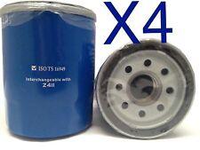 4X Oil Filter Suits Z411 FORD KIA MAZDA MITSUBISHI PROTON WZ411