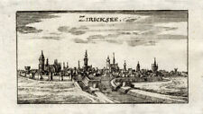 Antique Print-ZIERIKZEE-NETHERLANDS-Riegel-1691