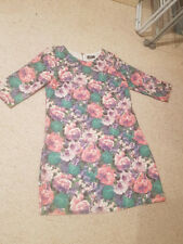 sz 8 dotti dress - floral