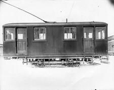 Photo. 1920s. Montreal, Canada. Trams - Rail Grinding Car