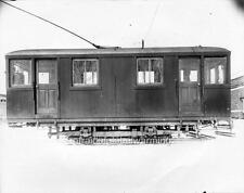 Photo. 1920s. Montreal, Canada. Trams - Rail Grinding Car